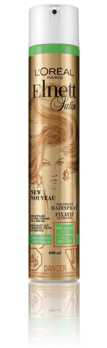 L'Oreal Paris Elnett Hairspray Extra Strong Hold Unscented