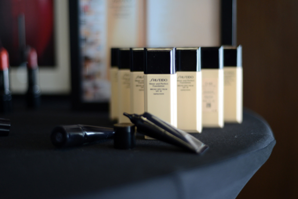 Shiseido makeup artist Dick Page in Toronto