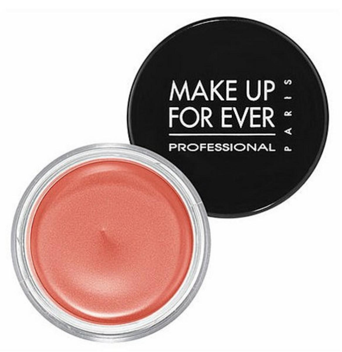 Make Up For Ever Aqua Cream Waterproof Cream Color in Peach
