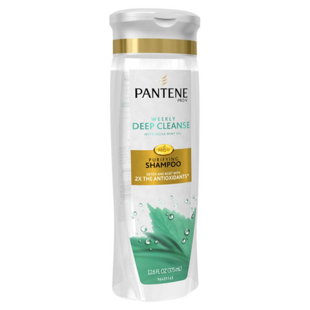 Pantene Damage Detox Deep Cleanse Purifying Shampoo