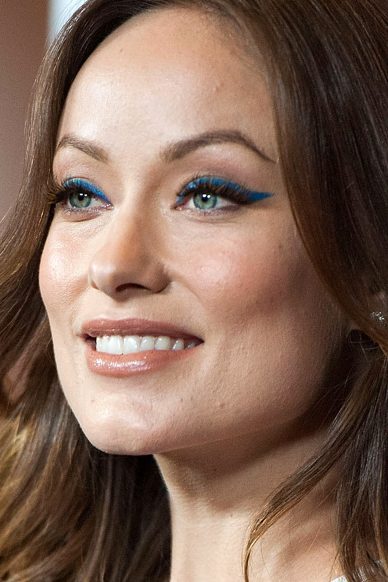 Get Inspired By Olivia Wilde S Bold Blue Cat Eyes
