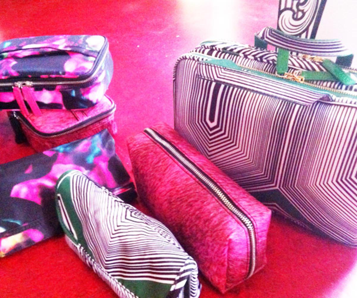 Sonia Kashuk in Toronto - makeup bags