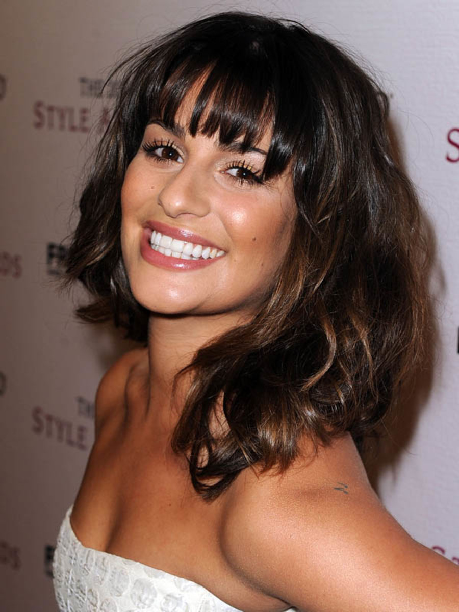 Lea Michele - Hollywood Style Awards 2012