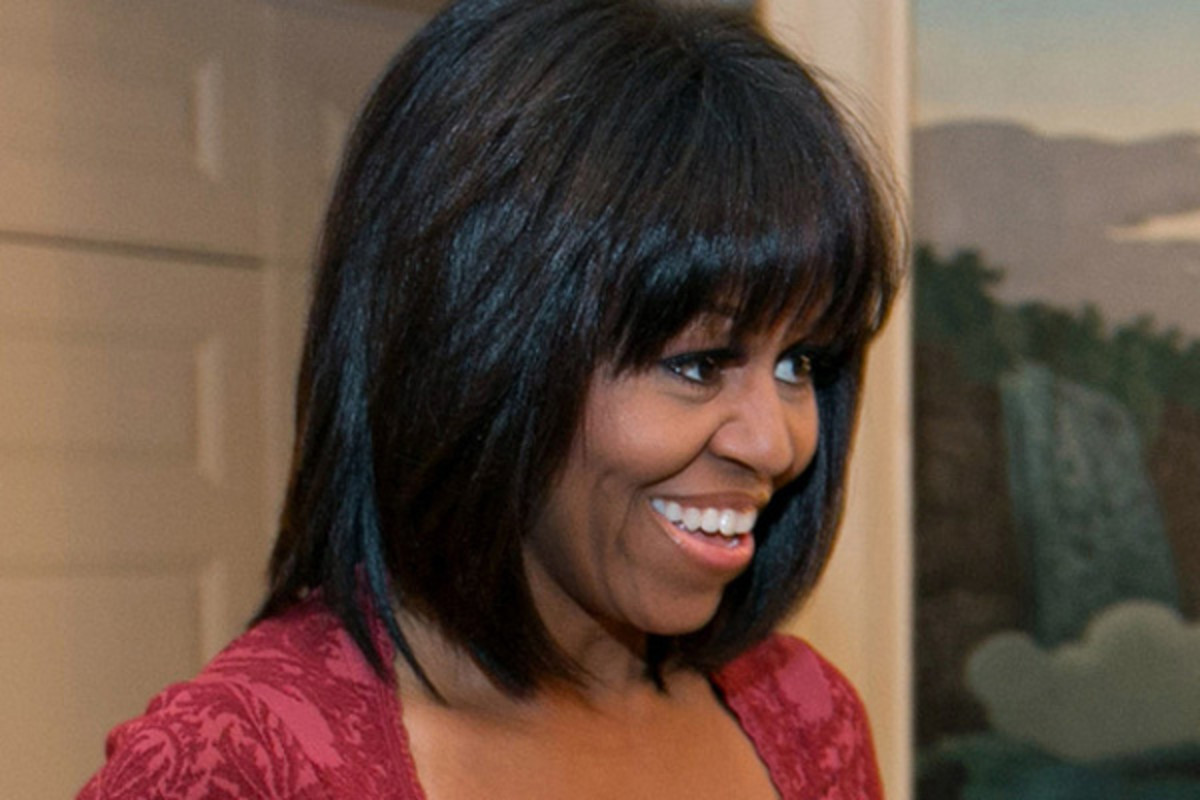 Michelle Obama - bangs