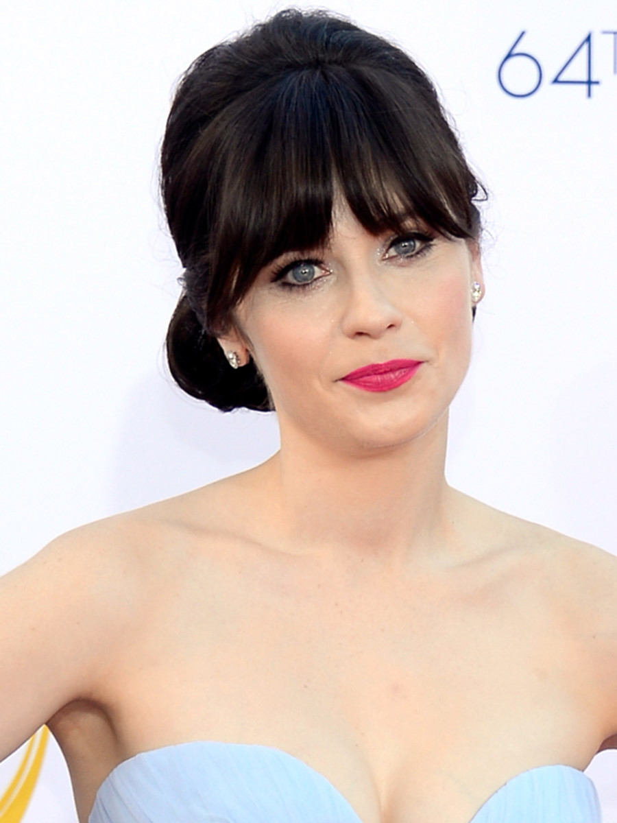 Zooey Deschanel - Emmy Awards 2012