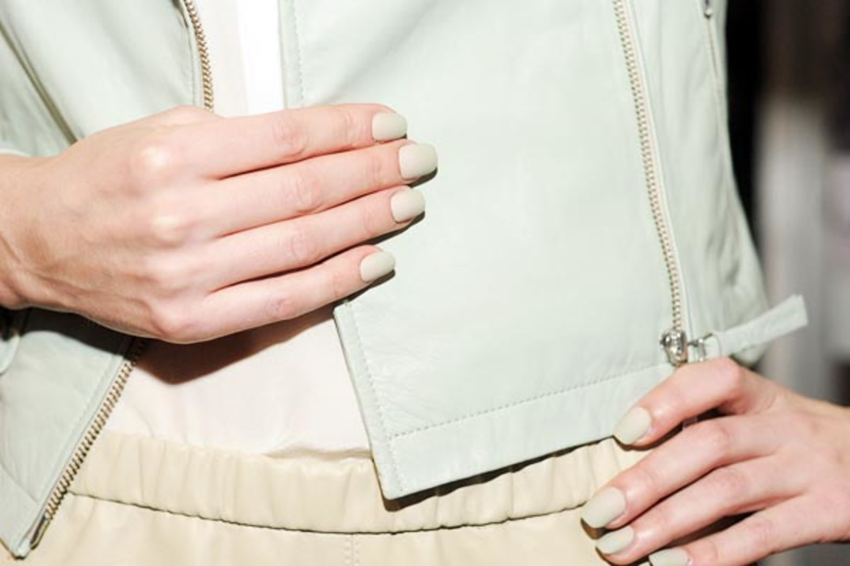 Mackage - Spring 2013 nails