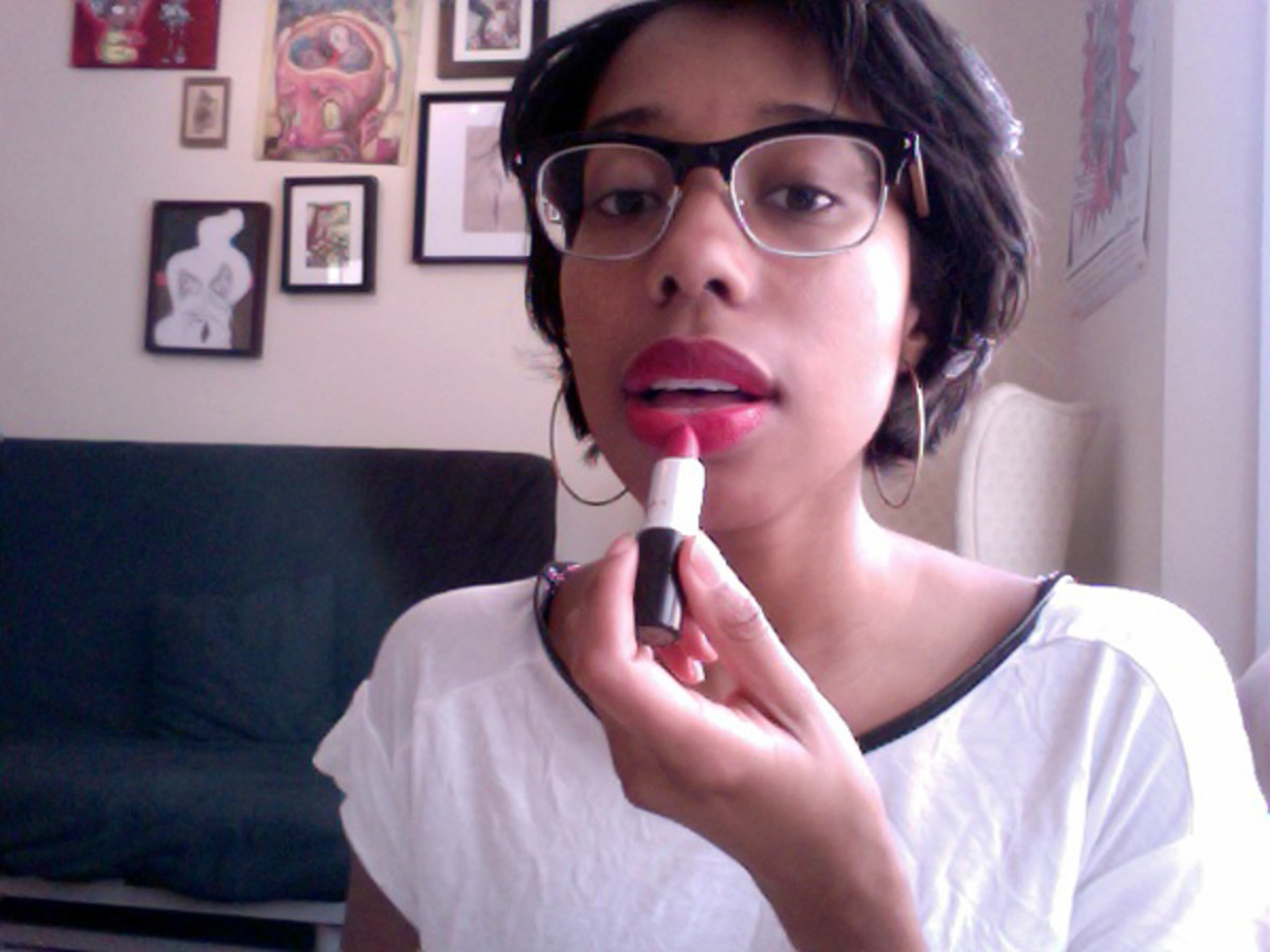 How to make your lipstick last - step 3
