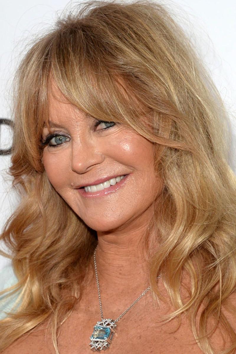 Goldie Hawn, amfAR Inspiration Gala, 2013
