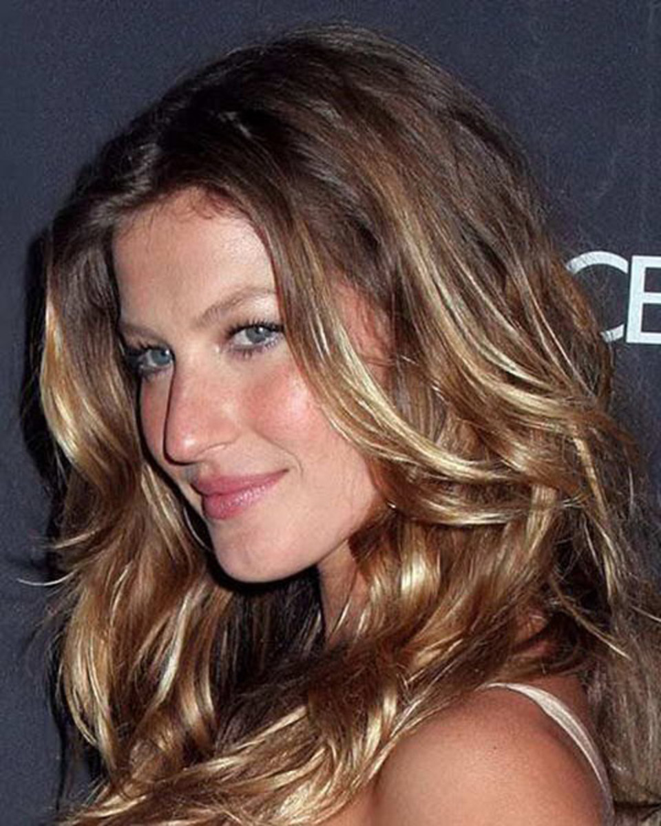Gisele - brown balayage hair