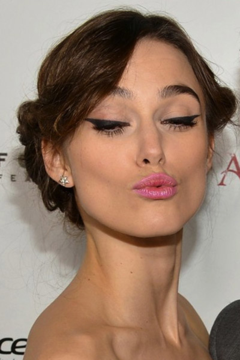 Keira Knightley Has 2 New Looks to Try for Party Season ... Keira Knightley