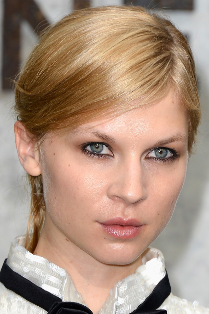 Clemence Poesy, Chanel couture show, July 2013