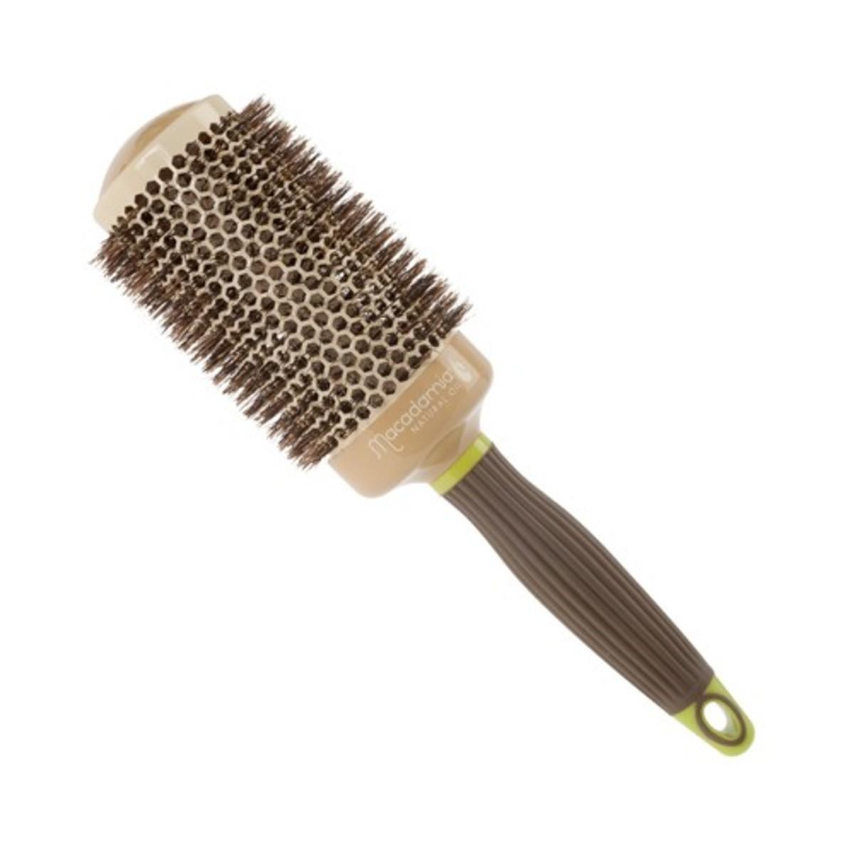 Macadamia Natural Oil Hot Curling Boar Brush