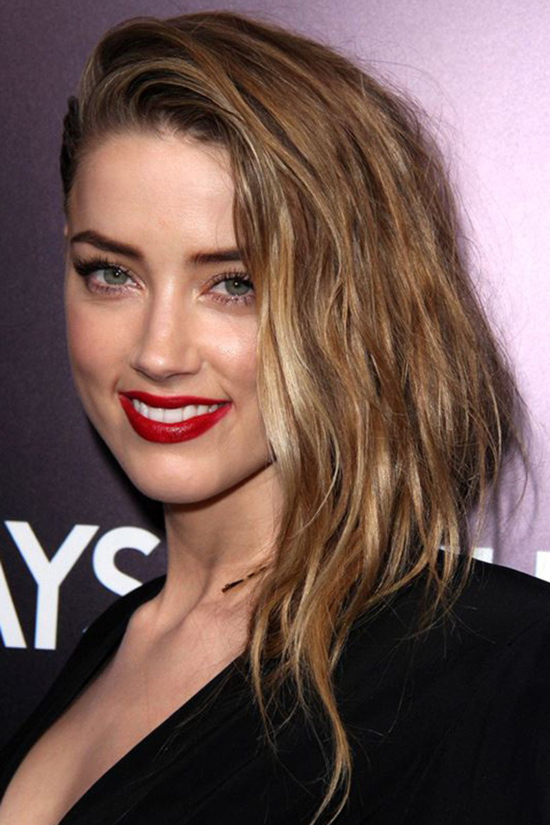 Amber Heard undercut, 3 Days to Kill premiere, 2014 (3)