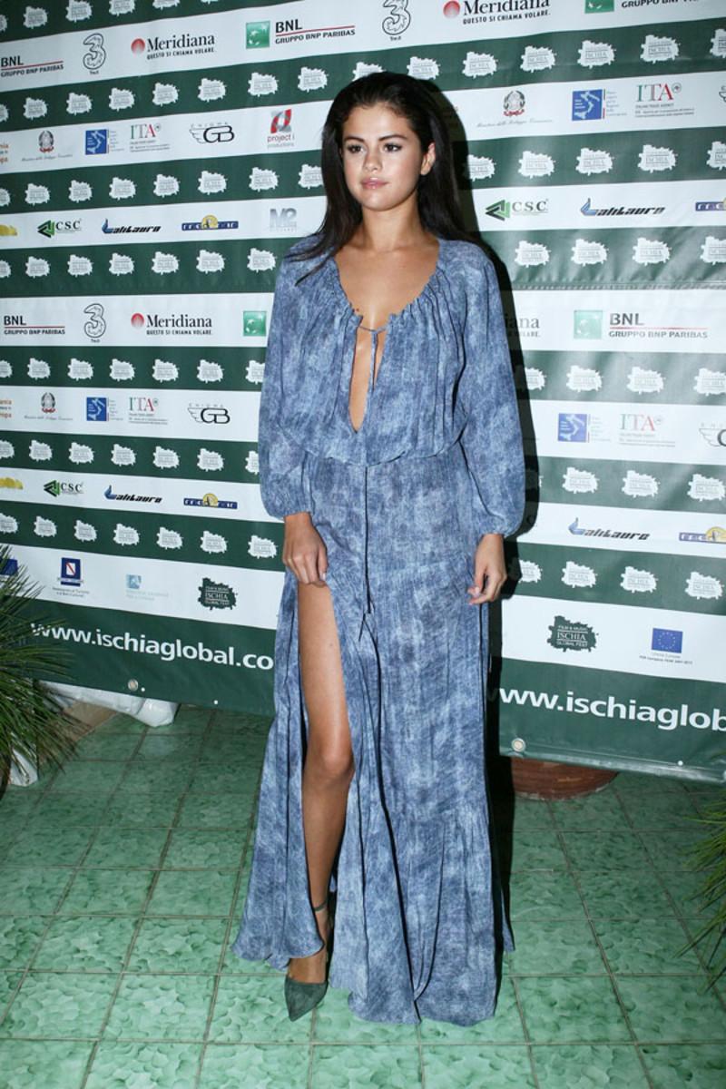Selena Gomez, Ischia Film and Music Festival, 2014 (2)
