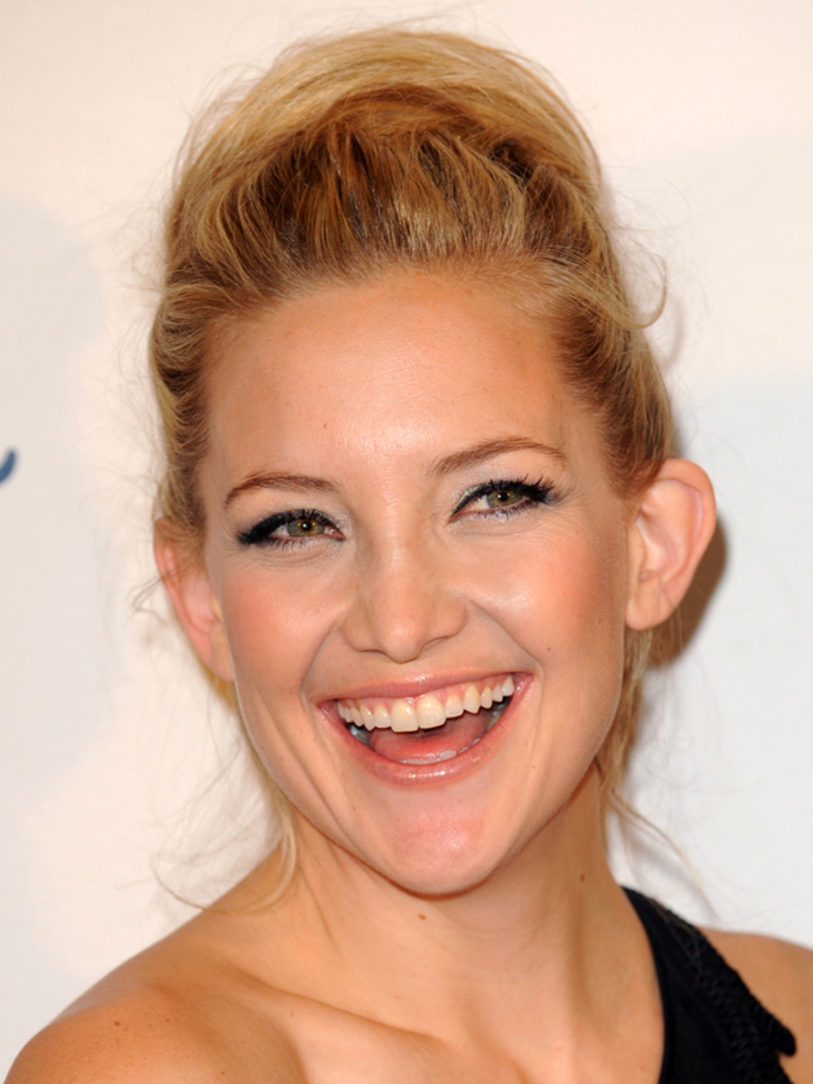 Kate Hudson beauty tips - British Fashion Awards, 2011