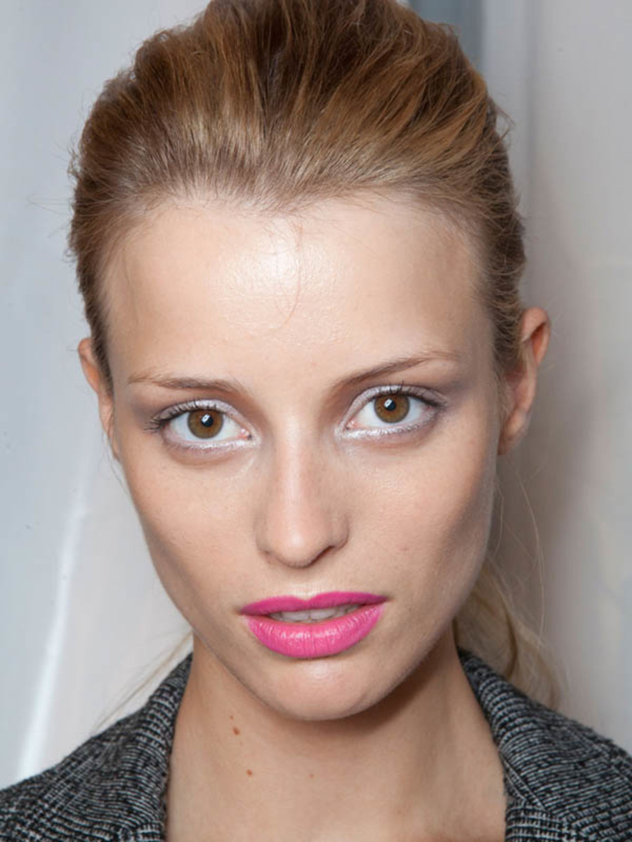 John Richmond - Spring 2013 makeup
