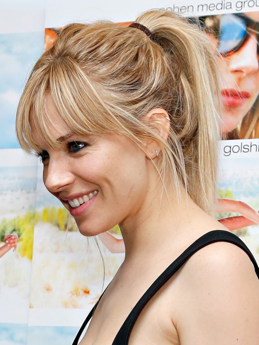 Sienna Miller Will Make You Fall In Love With The High Ponytail - Beautyeditor-4524