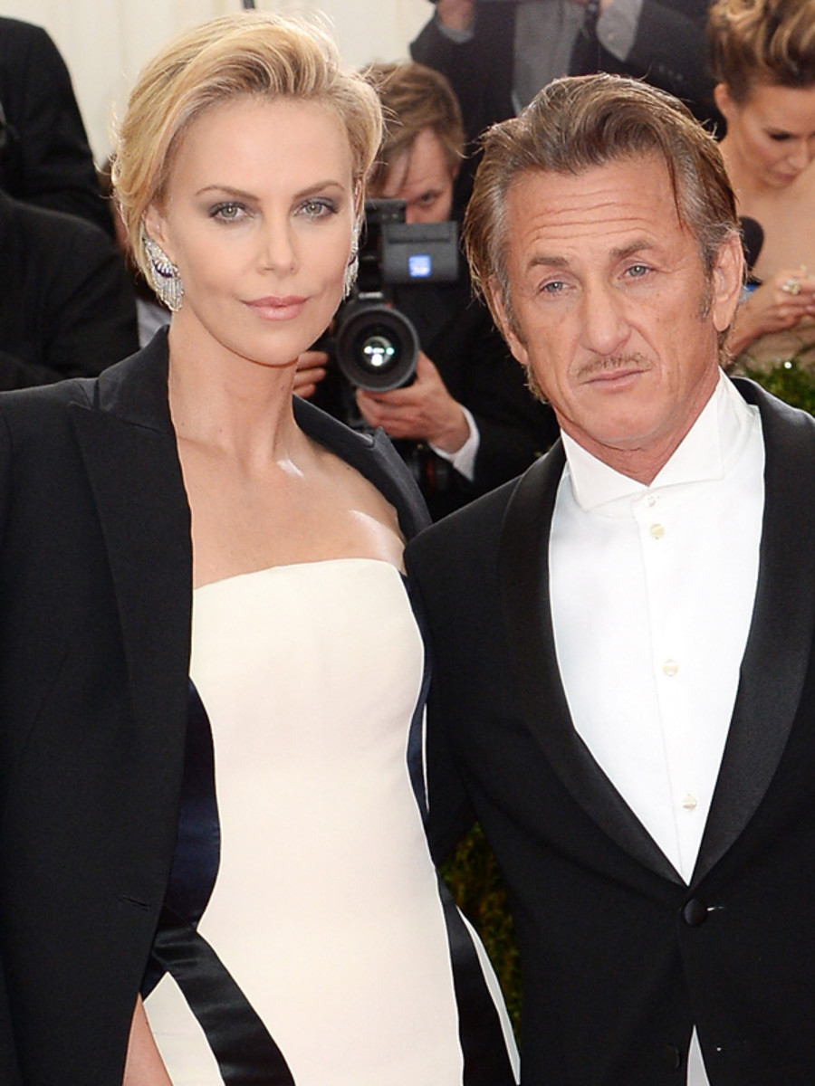 Charlize Theron and Sean Penn, Met Ball 2014
