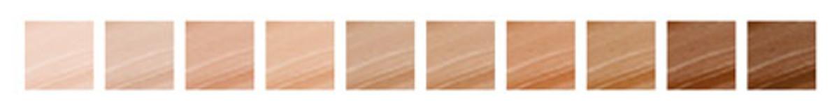 Smashbox Liquid Halo HD Foundation shade range