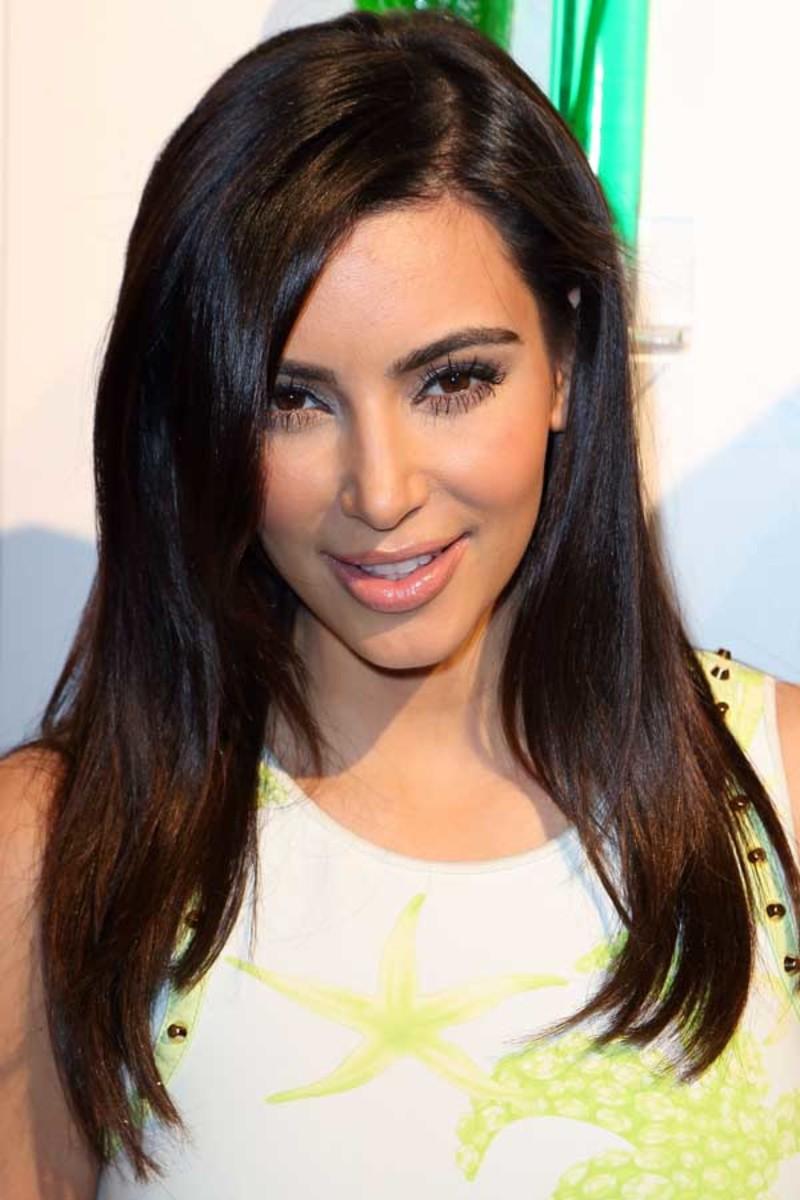 Kim Kardashian - Midori beach party, 2012
