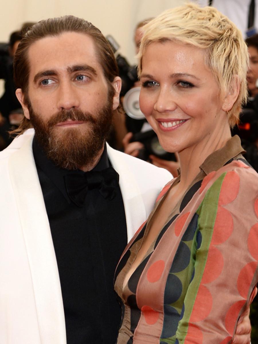 Jake Gyllenhaal and Maggie Gyllenhaal, Met Ball 2014