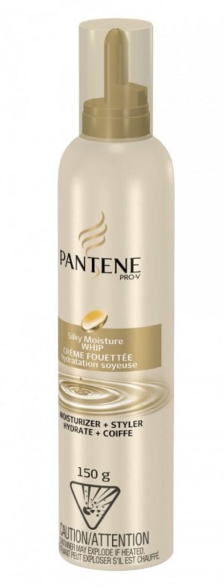 Pantene Silky Moisture Whip Moisturizer plus Styler