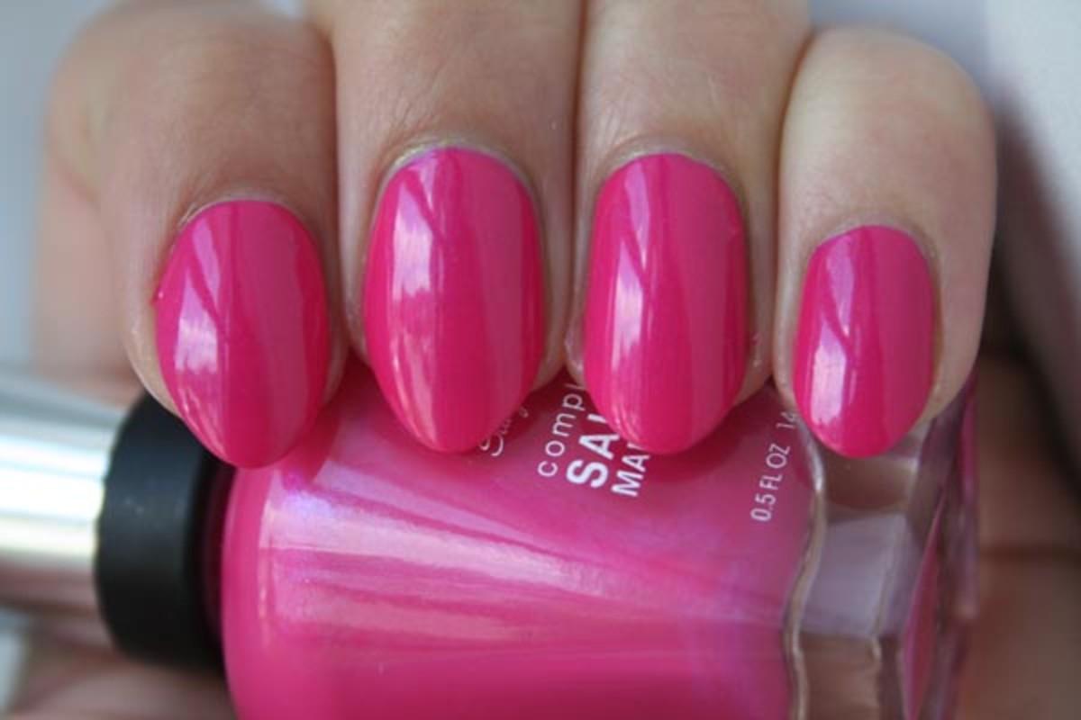 Sally Hansen Complete Salon Manicure Back to the Fuschia