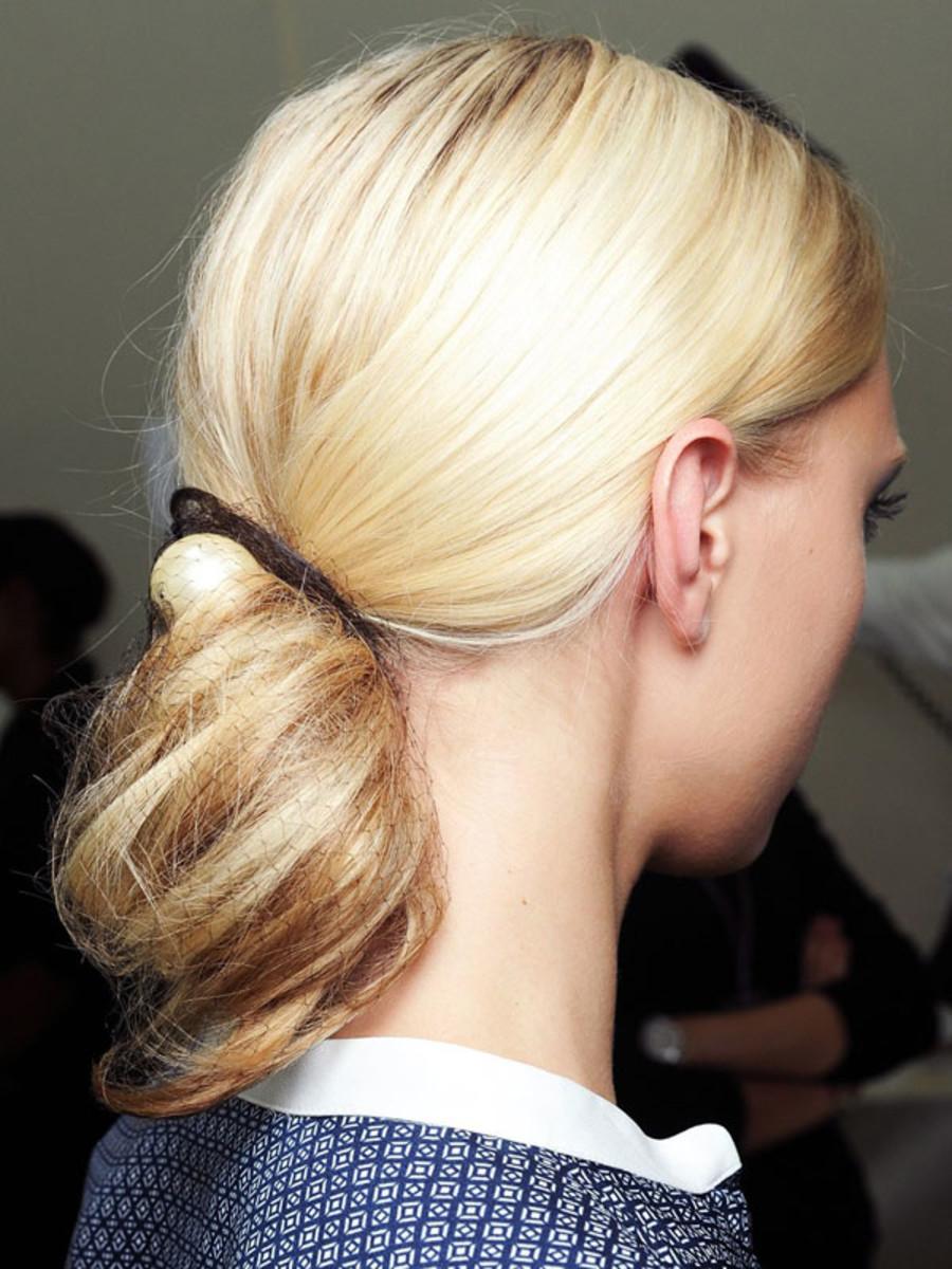 Chanel - Spring 2013 hair