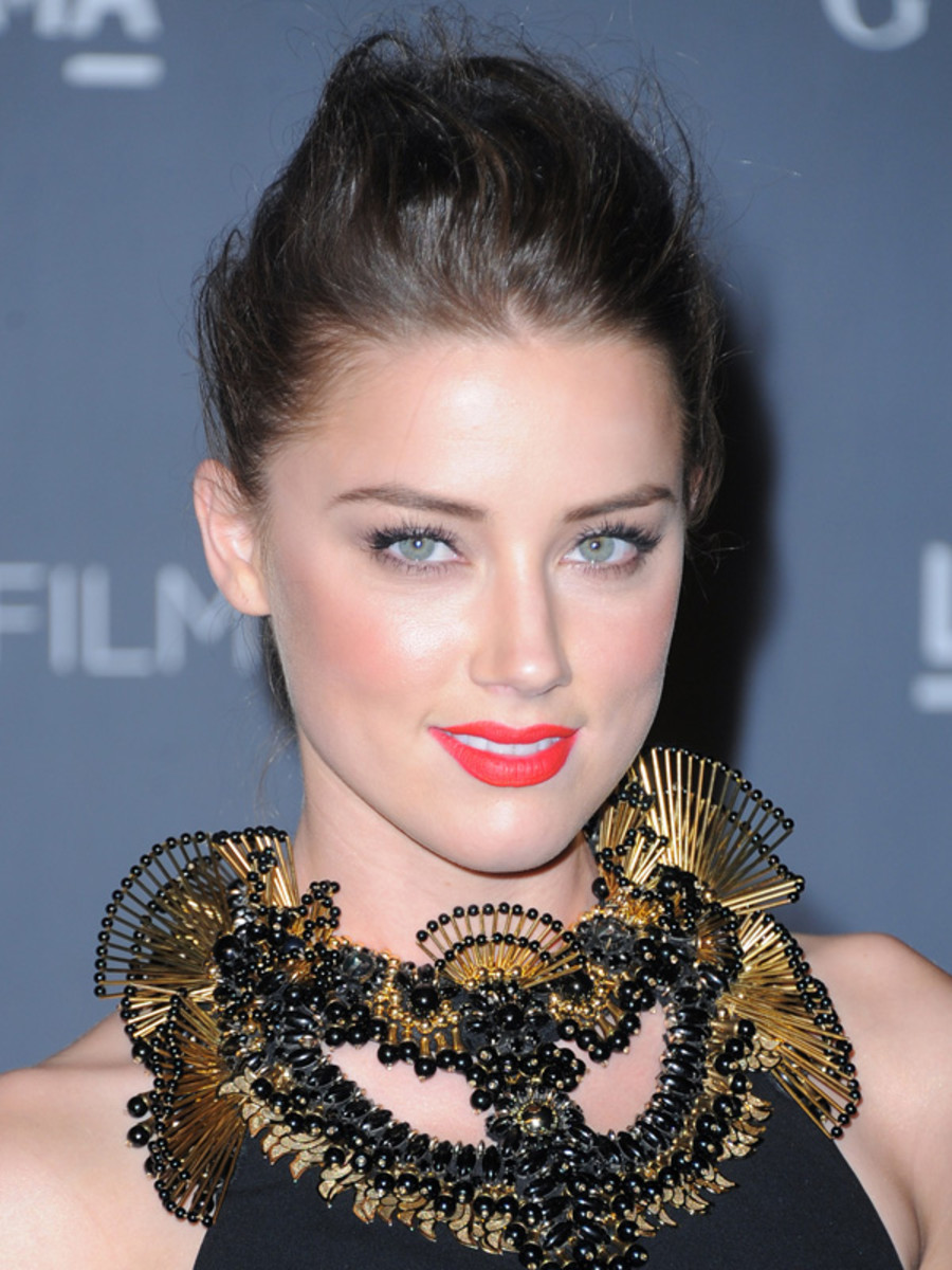Amber Heard - LACMA Art Gala 2012