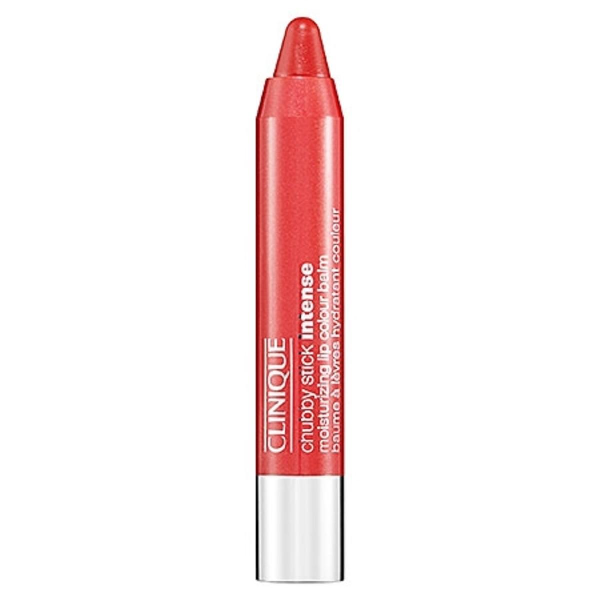 Clinique Chubby Stick Intense Moisturizing Lip Colour Balm in Heftiest Hibiscus