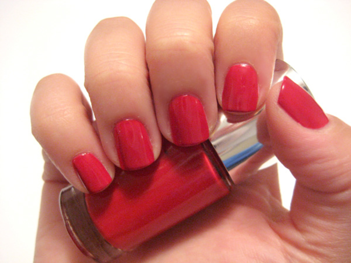 Clinique Sensitive Nail Polish - Party Red