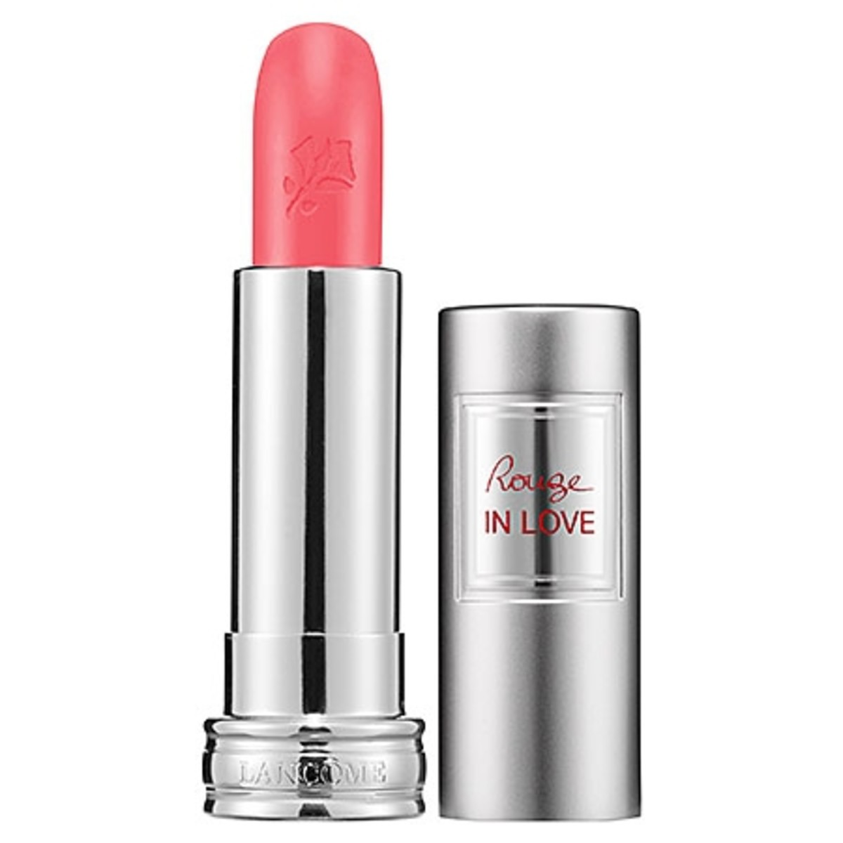 Lancome Rouge in Love Lipcolor in Fall in Rose
