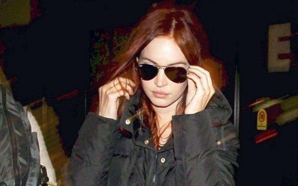 Megan Fox red hair
