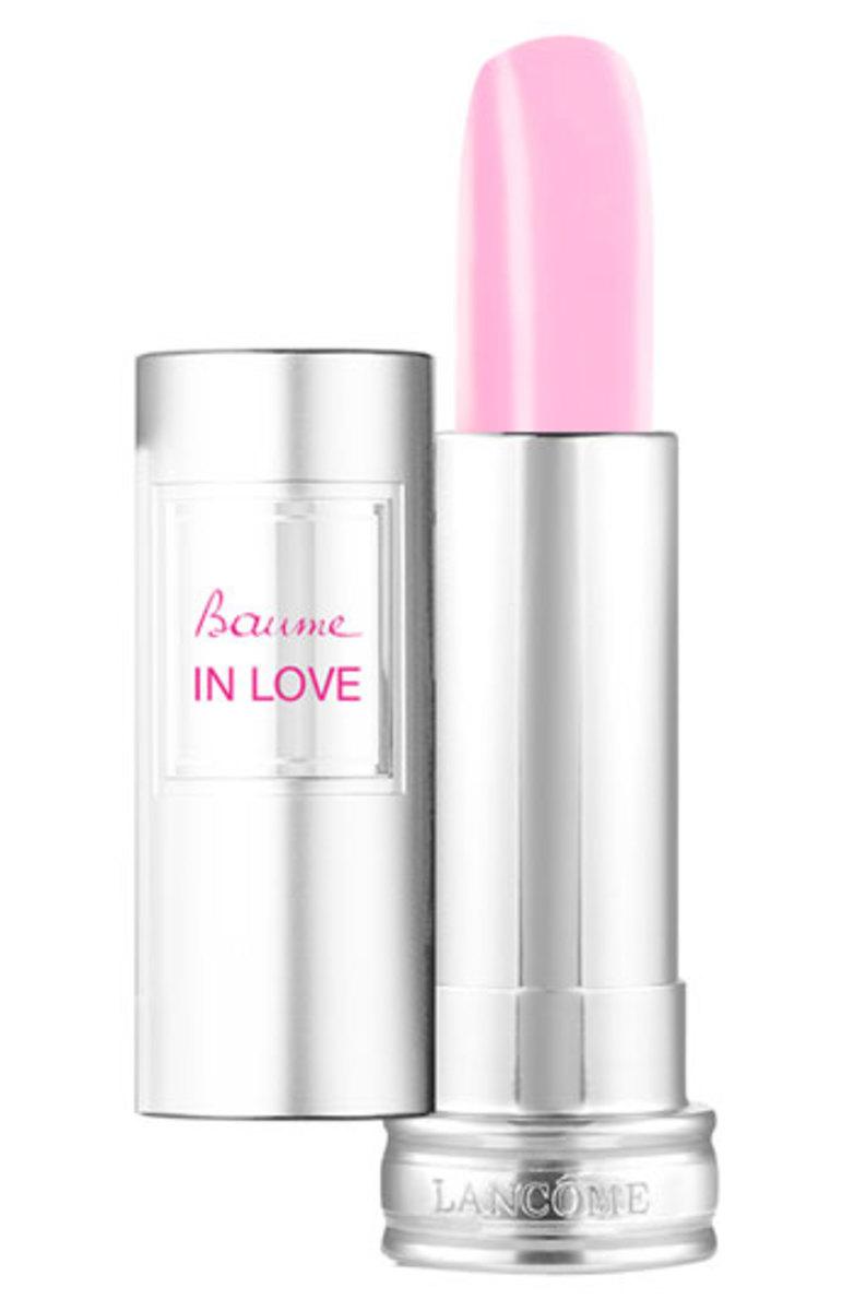 Lancome Baume in Love Sheer Tinted Lip Balm in Rose in Love