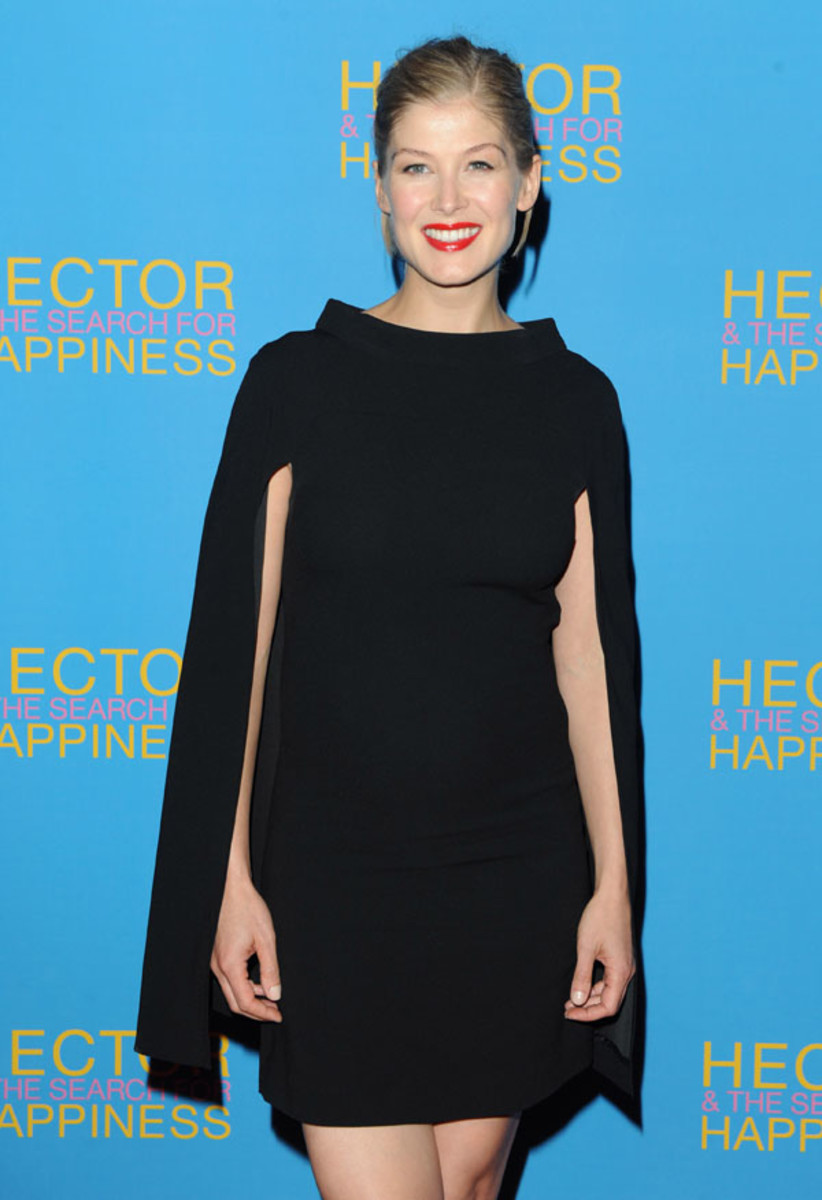 Rosamund Pike, Hector and the Search for Happiness premiere, 2014 (2)
