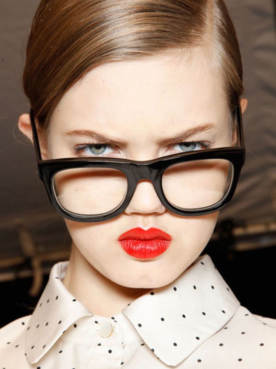 Marc by Marc Jacobs - FW12 makeup