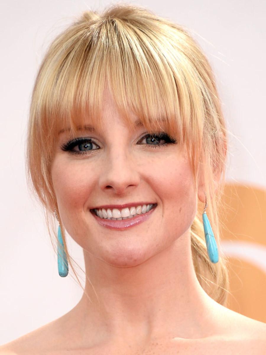 Melissa Rauch - Emmys 2013