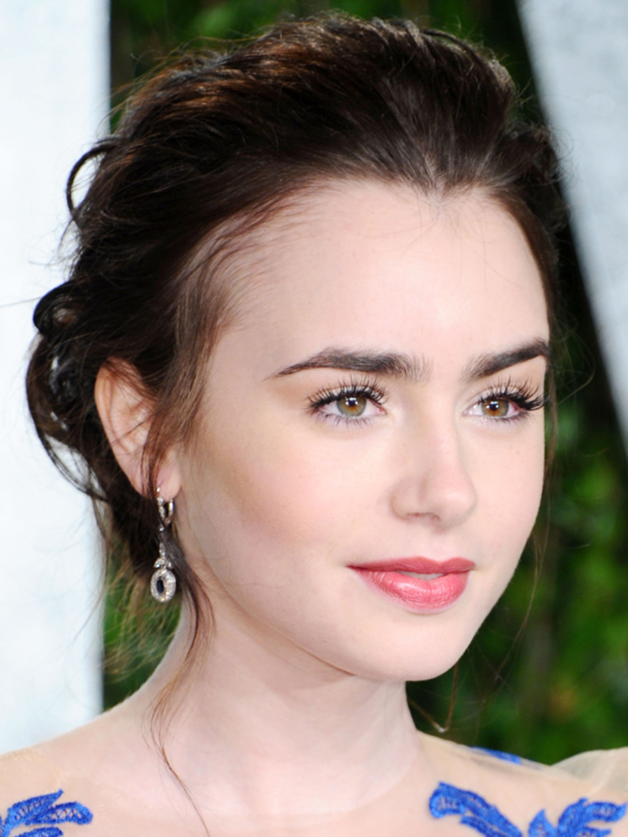 lily collins 10 best hair and makeup looks beautyeditor