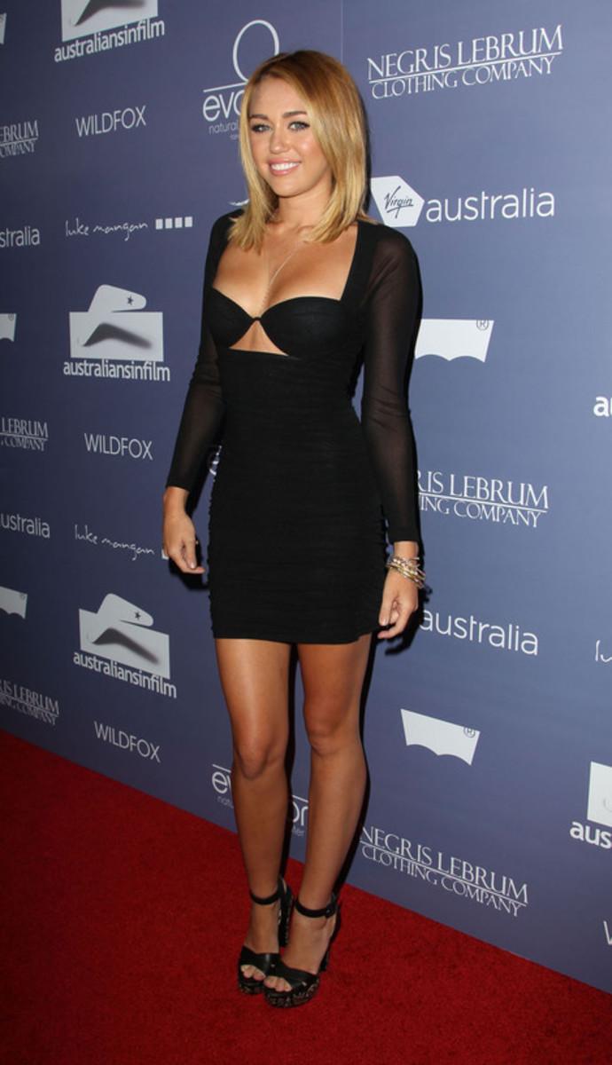 Miley Cyrus - Australian Film Awards dress
