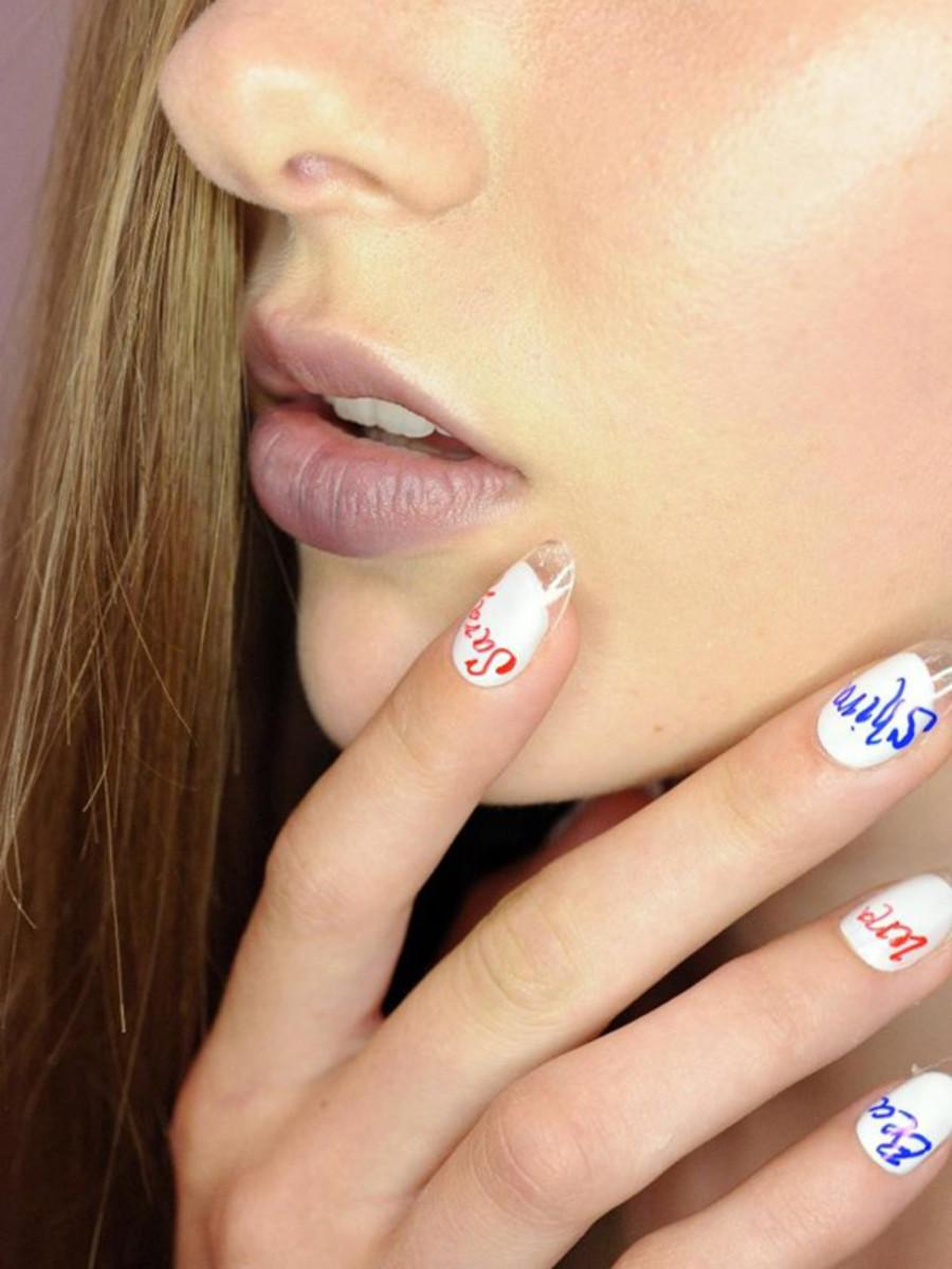Rachel Antonoff - Spring 2013 nails