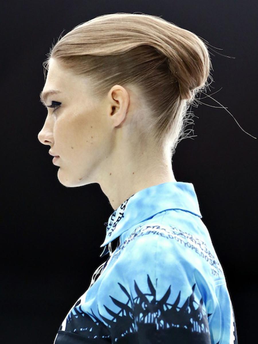 Mary Katrantzou - Spring 2013 hair