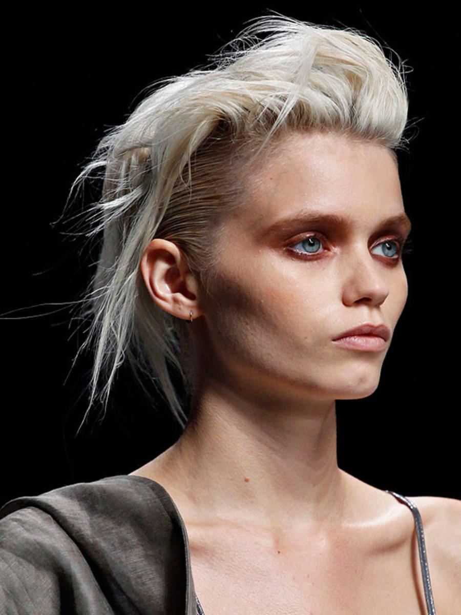 Haider Ackermann - Spring 2012 hair