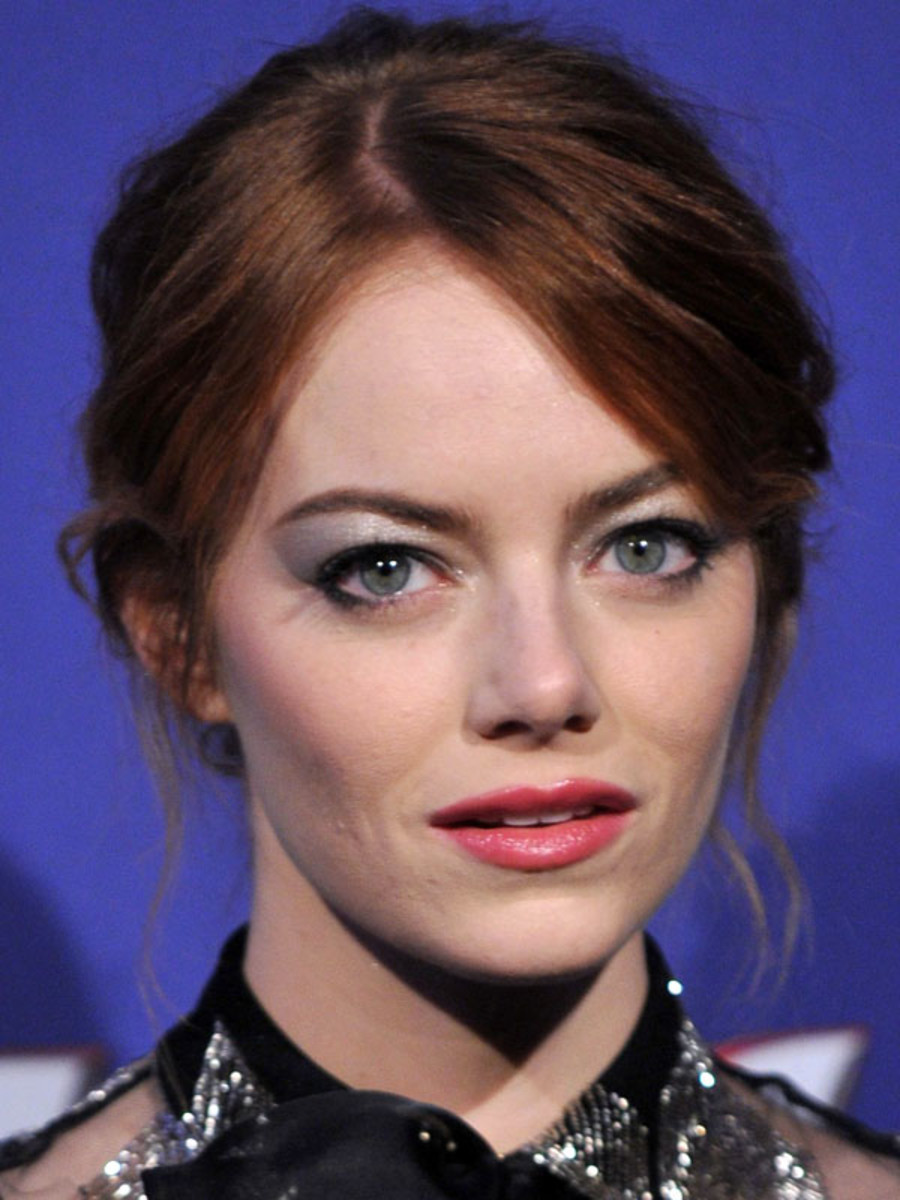 Emma Stone, The Amazing Spider-Man 2 premiere, Rome, 2014