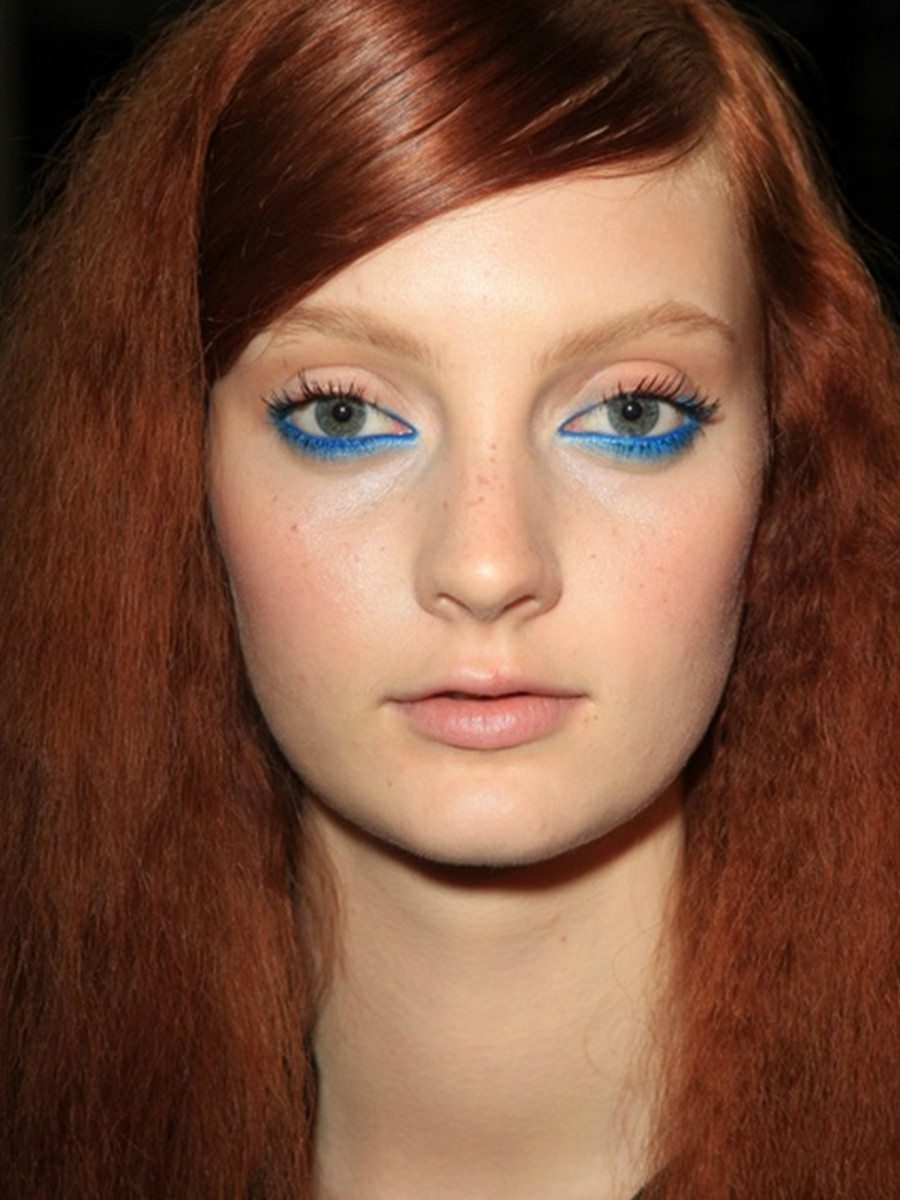Moschino Cheap & Chic - Spring 2013 makeup-2