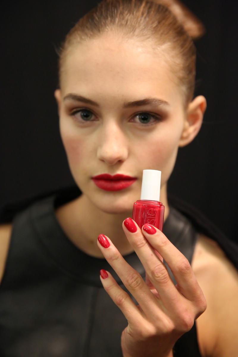 Carolina Herrera Spring 2015 nails
