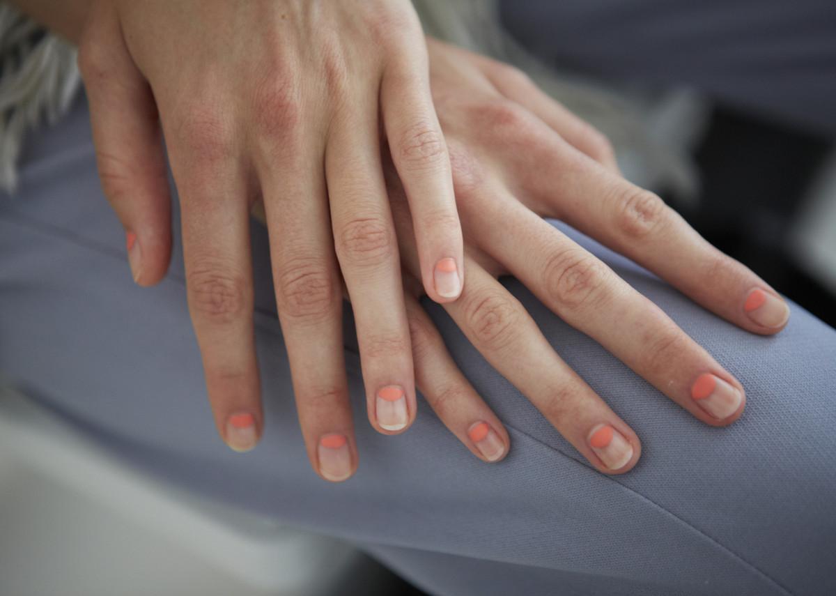 Delpozo Spring 2015 nails