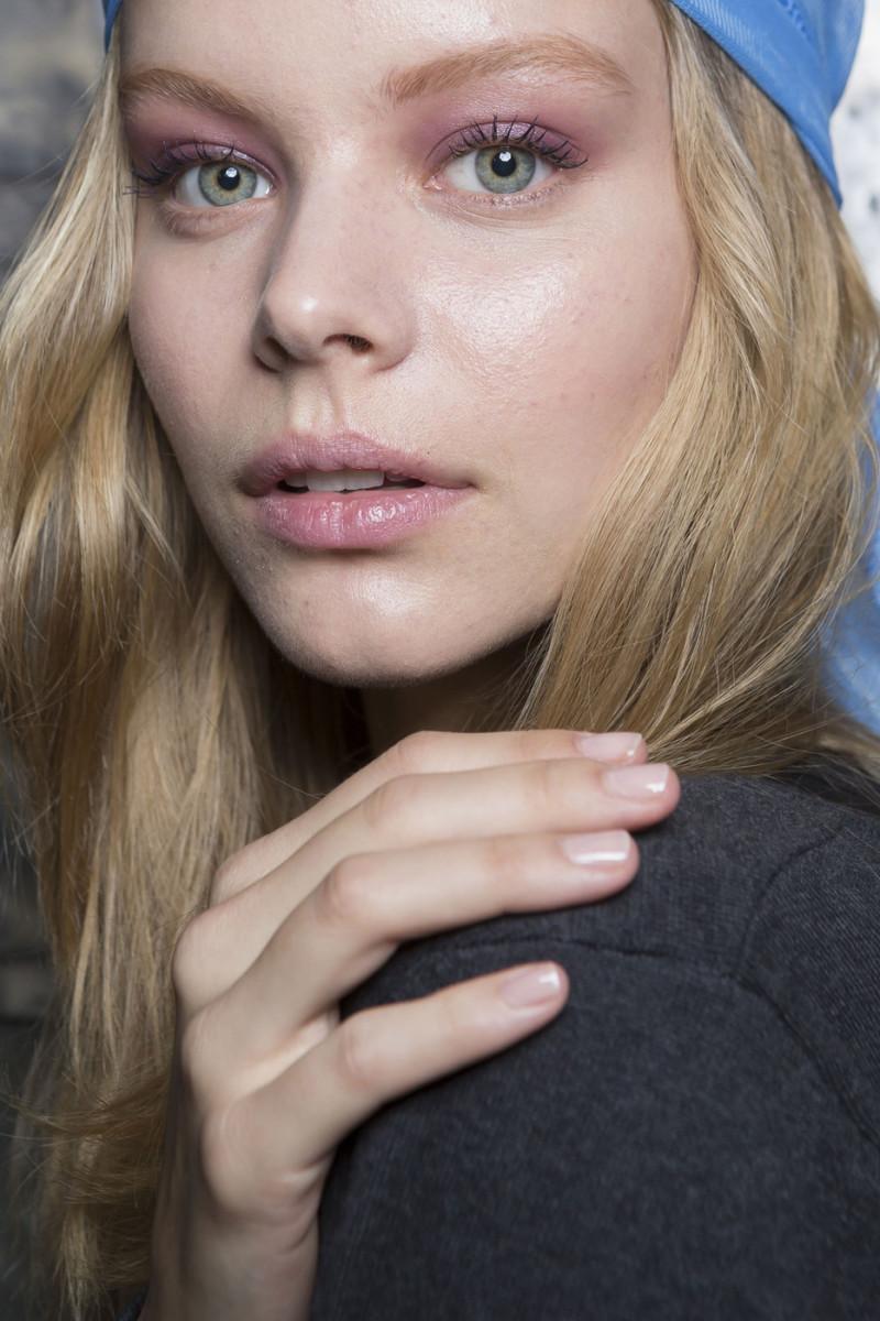 Derek Lam Spring 2015 makeup