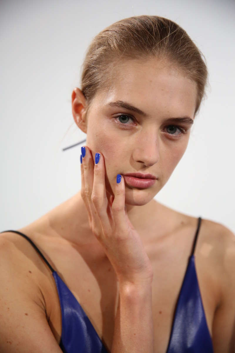 Reed Krakoff Spring 2015 nails