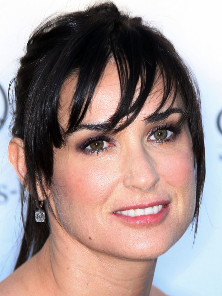 image Demi moore beautiful face expression striptease compilation