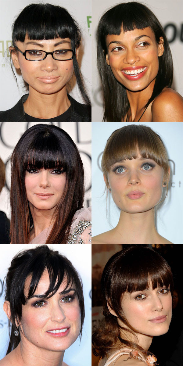 Worst bangs for square face